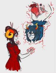 adventures aranea_serket damara_megido homestuck thetenk webcomic