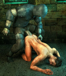 2boys 3d anal dirty forced killystein large_penis male_focus multiple_boys nude outdoors penetration penis rape resident_evil sex source_filmmaker yaoi zombie