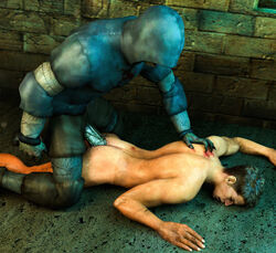 2boys 3d anal blood dirty forced killystein male_focus multiple_boys nude outdoors penetration rape resident_evil sex source_filmmaker yaoi zombie