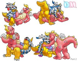 cassie crossover digimon dm_dragon dragon_tales gabumon