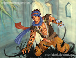 prince prince_of_persia red_of_blood the_thief yaoi