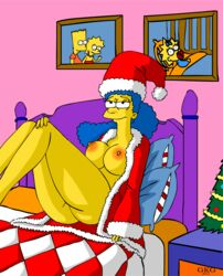christmas gkg marge_simpson tagme the_simpsons