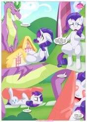 bbmbbf big_penis female friendship_is_magic heart-shaped_pupils my_little_pony palcomix rarity_(mlp) spike_(mlp) tagme