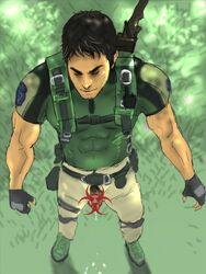 chris_redfield human male male_only penis resident_evil resident_evil_5 solo