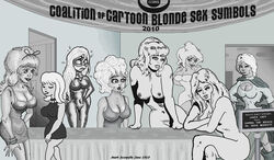 annie_fanny beetle_bailey cher_d'flower cool_world cracked_magazine crossover dc elissa_megan_powers empowered holli_would little_annie_fanny mark_scerpella miss_buxley nanny_dickering ophelia_bunz playboy power_girl sally_forth sick_magazine