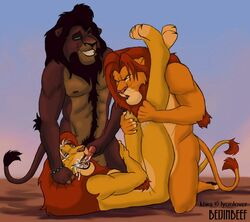 beijinbeef kovu simba tagme the_lion_king