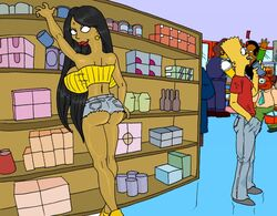 apu_nahasapeemapetilon bart_simpson grocery_store look_back manjula_nahasapeemapetilon milf the_fear the_simpsons