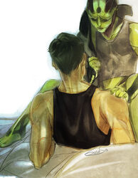 commander_shepard drell exitonly gay mass_effect thane_krios