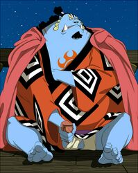 jinbei male male_only one_piece solo tagme