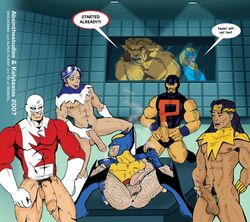 alpha_flight gay guardian marvel northstar puck sasquatch shaman snowbird wolverine x-men yaoi