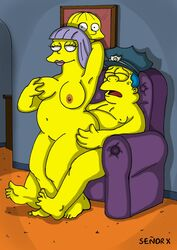 chief_wiggum señor_x seã±or_x the_simpsons
