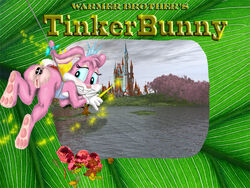 babs_bunny color female female_only funimal furry rabbit solo tiny_toon_adventures warner_brothers