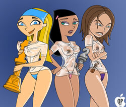 bonnie_rockwaller crossover danny_phantom dimsumboy22 kim_possible lindsay paulina selrock total_drama_island